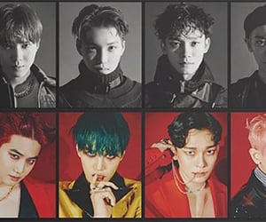 exo and k-pop image