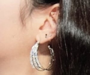 details, earrings, and kpop image