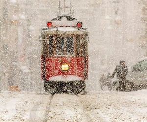 winter, snow, and istanbul image