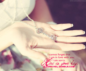fashion, hand, and love quotes image