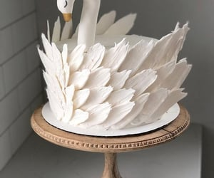 cake and Swan image