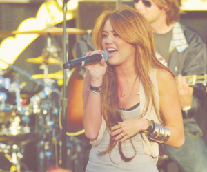 beautiful, miley cyrus, and singer image