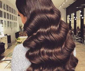 hair, waves, and hair goals image
