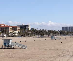 california, los angeles, and venice beach pier image
