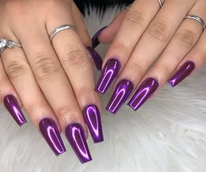 colors, fake nails, and fashion image