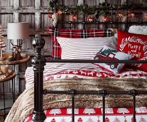 bedroom, christmas lights, and inspiration image