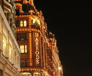 dream place, harrods, and london image