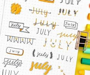 bujo, bullet journal, and bujo header image