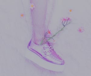 creepers, girl, and pink image