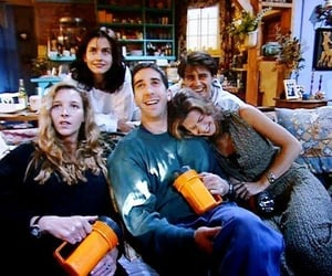 friends, Courteney Cox, and Jennifer Aniston image