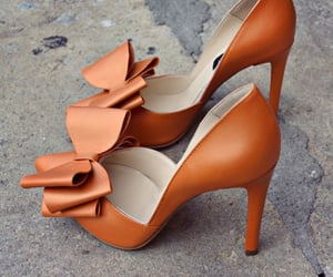 autumn, heels, and orange image