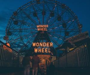 night, tumblr, and wonder wheel image