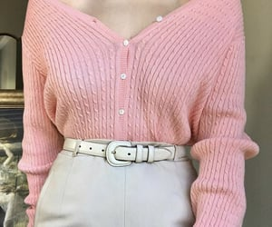 belt, cardigan, and fashion image