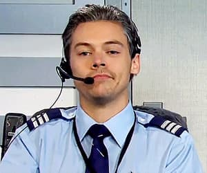 gif, pilot, and Harry Styles image
