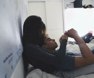 couple, cuddling, and cute image