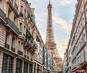 city, eiffel tower, and luxury image