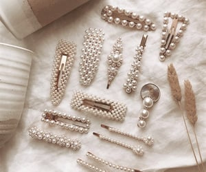 pearls, accessories, and clips image