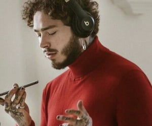 post malone, music, and rapper image