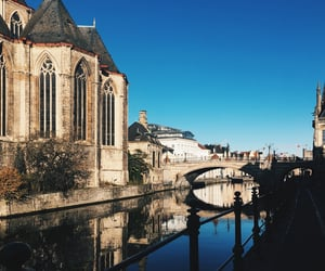 belgium, Ghent, and old city image