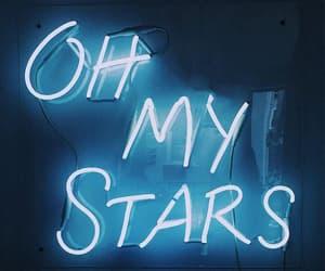 light, neon, and stars image