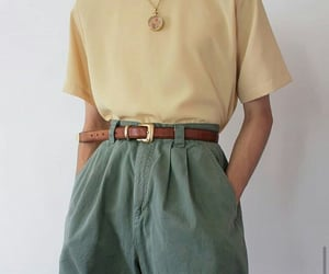 green, outfit, and 90s image