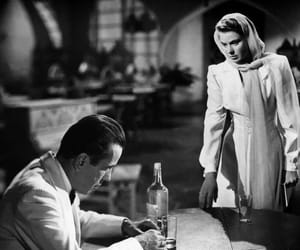 Casablanca, Humphrey Bogart, and ingrid brgman image