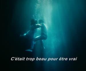 couple, french, and Lyrics image