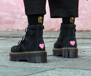 aesthetic, dr martens, and pink image