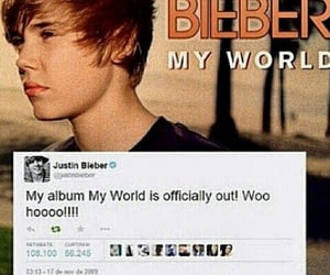 My World, justin bieber, and beliebers image
