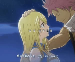 gif, fairy tail, and love image