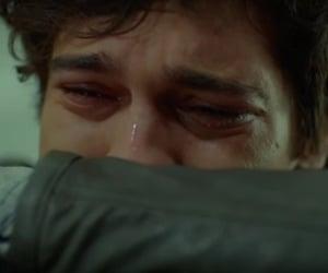 boy, sad, and crying image