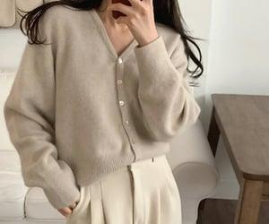 brown, moda, and korean style image