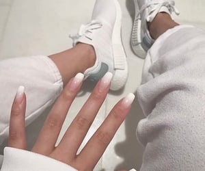 chic, nails, and style image