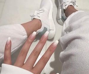 chic, manicure, and fashion image