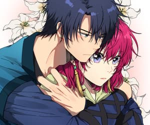anime, couple, and hak image