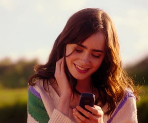film, screencap, and lily collins image