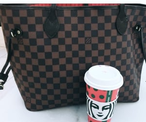 bag, cafe, and luxury image