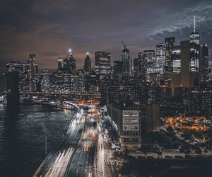 cities, cityscape, and new york image