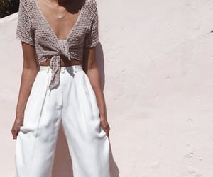 chic, white, and classy image