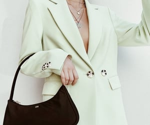 bag, classy, and jacket image