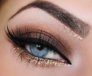 makeup, cosmetics, and eyeshadow image