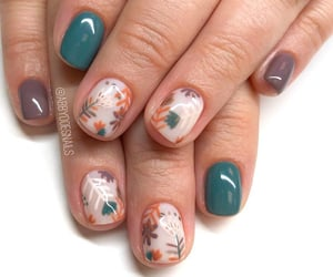girls and nails image