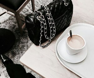 coffee, drink, and fashion image