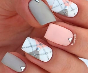 femme, vernis a ongles, and fille image
