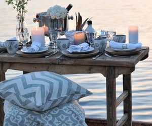 dinner, party, and party ideas image