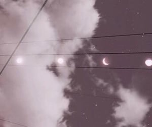 header, moon, and purple image
