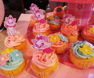 cupcake, aristocats, and marie image