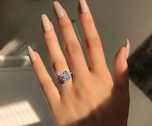 nails, ring, and girly image