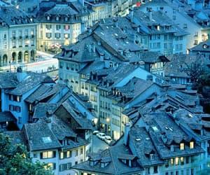 switzerland, house, and city image