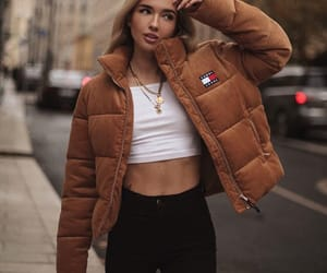 autumn, clothes, and girl image